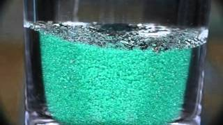Water in Hydrophobic Sand