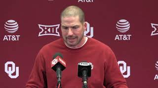 OU Football: Alex Grinch talks about win over OSU