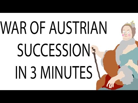 Austrian War Of Succession | 3 Minute History
