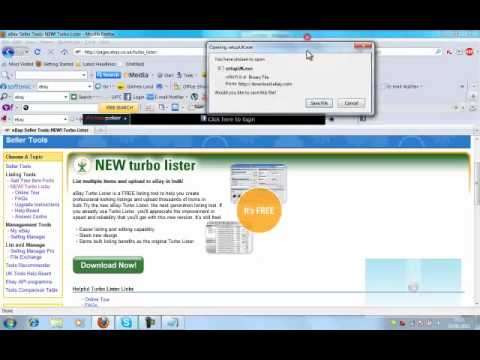 Download how lister turbo to ebay