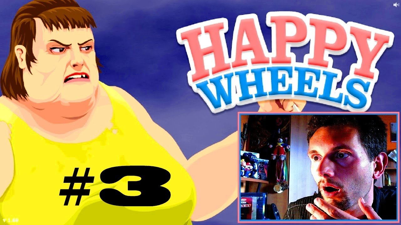 Happy Wheels 3 Mapy Fanów Roj Playing Games Youtube