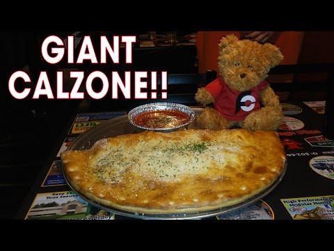 CAL-MUNGO CALZONE CHALLENGE IN VERMONT!!
