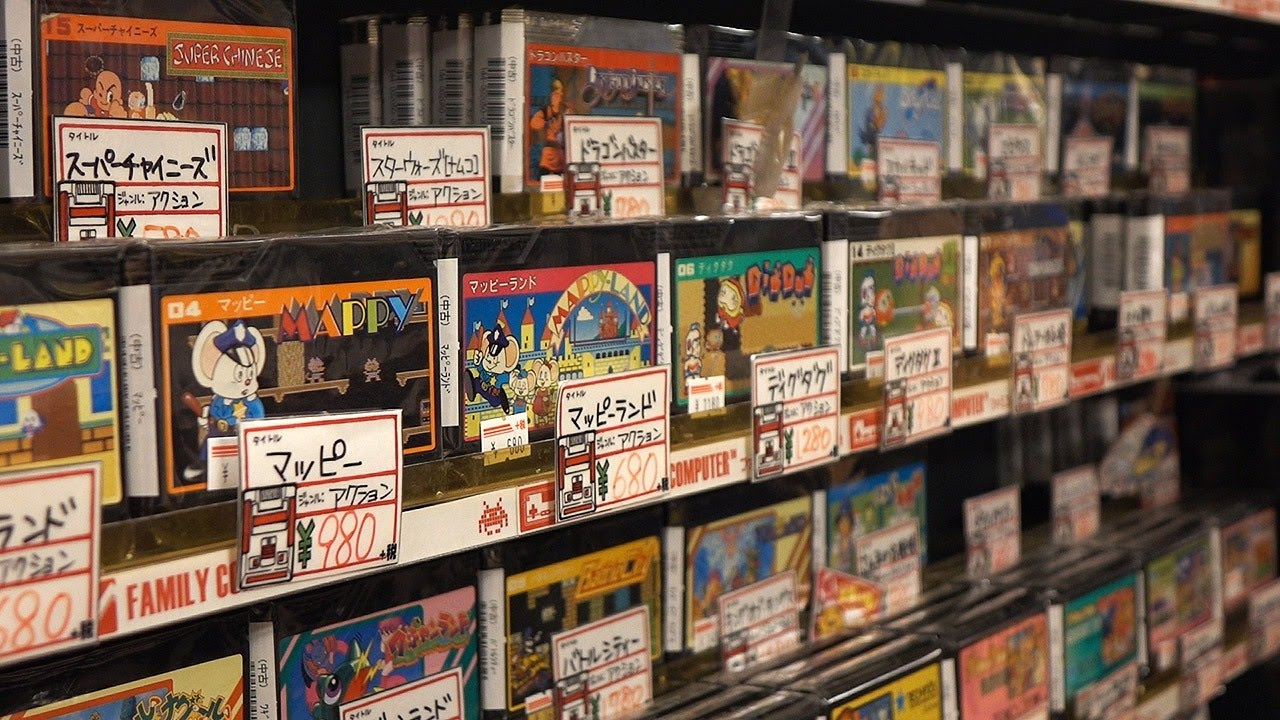 Here's What $250 Gets You In the World's Best Second Hand Games Store
