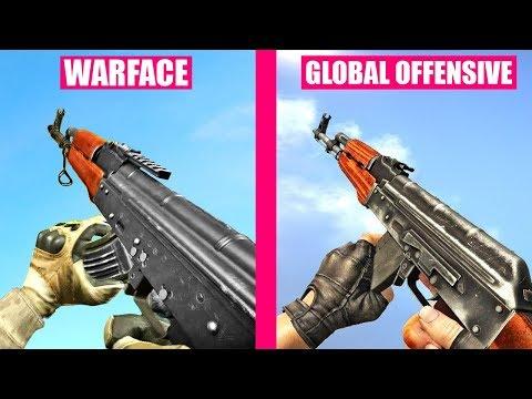 Counter-Strike Global Offensive Gun Sounds Vs Warface
