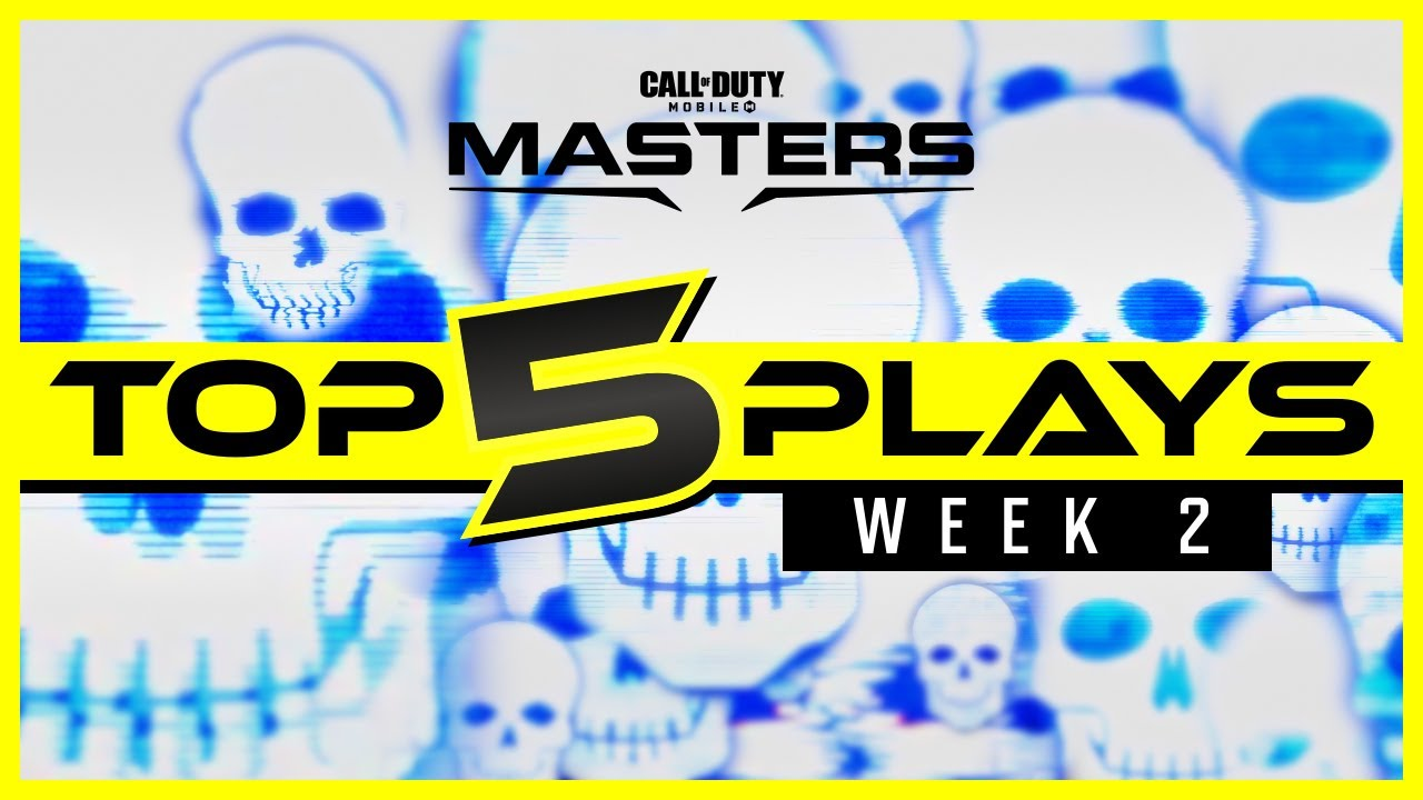 Call of Duty®: Mobile - Masters - Top 5 Plays   Week 2