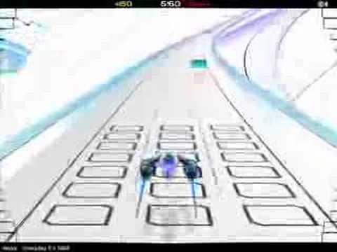 Audiosurf: Moby - Everyday It's 1989