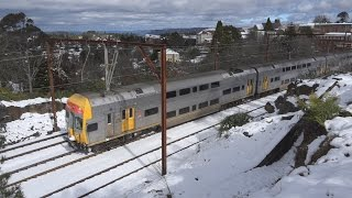 Trains in the Snow at Leura & Katoomba Top 10 Video