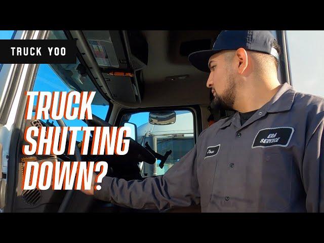 Semi truck keeps shutting down. Check This.