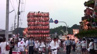 多久山笠2013