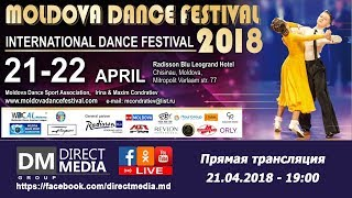 Live: Moldova Dance Festival 2018 21.04.2018