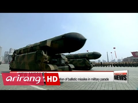 Thumbnail: North Korea shows off new generation of ballistic missiles in military parade