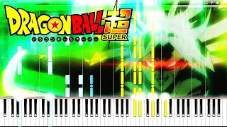 DRAGON BALL SUPER BROLY: MAIN THEME (BLIZZARD - DAICHI MIURA) | Piano Tutorial