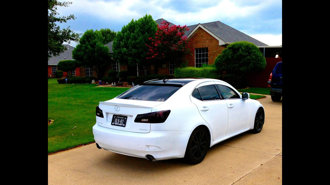 Plasti Dip Emblems >> Lexus in white (Plasti Dip) - YouTube