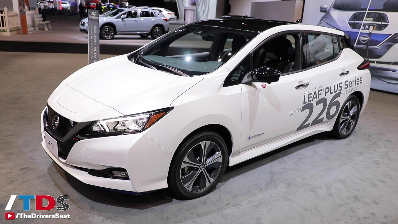 The 2020 Nissan Leaf Plus Gets More Power And Range Look Out Chevy Bolt Youtube