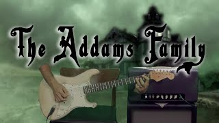 How To Play - The Adams Family - Theme Song - Guitar Lesson - Happy Halloween