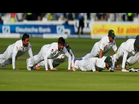 Cricket Ki Baat: Pakistan Team Push-ups After Winning Against England at Lords
