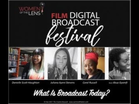 What Is Broadcast Today Panel Discussion, 25th November 2017, The Cinema Museum