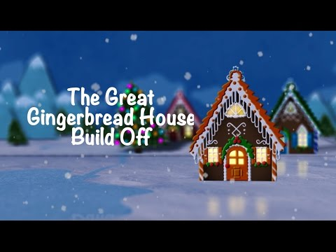 The Great Gingerbread House Build Off