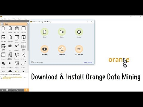 How To Download And Install Orange Data Mining Tool