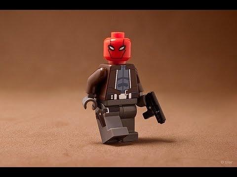 LEGO Batman Red Hood and Hush Custom Minifigs HD Figure ...