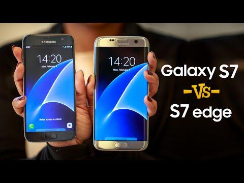 Samsung Galaxy S7 vs S7 Edge ¿Cuáles son las diferencias?