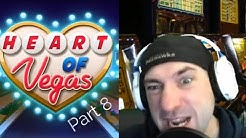 HEART OF VEGAS SLOTS Slot Casino Games P8 Free Mobile Game  Android  Ios Gameplay Youtube YT Video