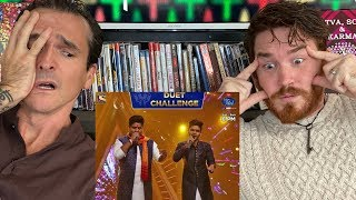 INSANE Indian Idol FACE OFF Performance REACTION! - Salman Ali and Nitin