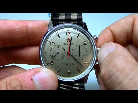 Seagull 1963 Air Force Chronograph Overview