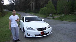 2011 Lexus is250, anyone want it? I hit it once, auto insurance covered it well