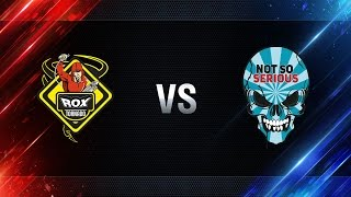TORNADO.ROX vs Not So Serious - day 4 week 1 Season I Gold Series WGL RU 2016/17