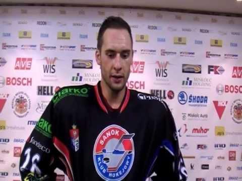 Wojtek Wolski about Miskolc - Sanok game