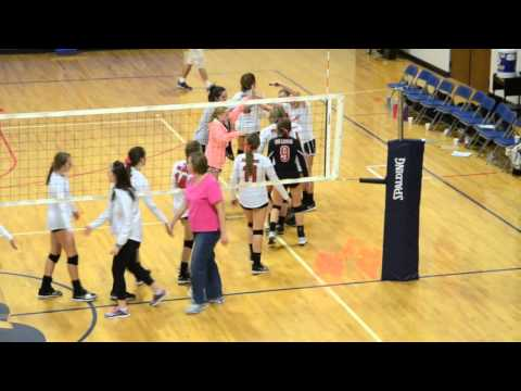 Roxboro Community School volleyball at Franklin Academy 10.5.15