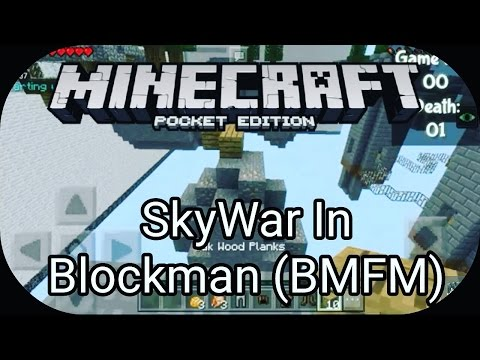 ✔MCPE Let's Play SkyWar In Blockman (BMFM) by MierulLORD (Malay Language)
