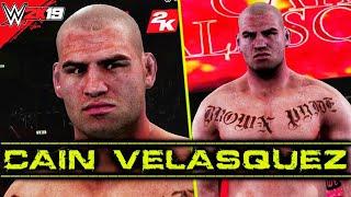 WWE 2K Cain Velasquez Entrance, Signature, Finisher & Victory Motion | DLC 2K19/2K20 PC Mods