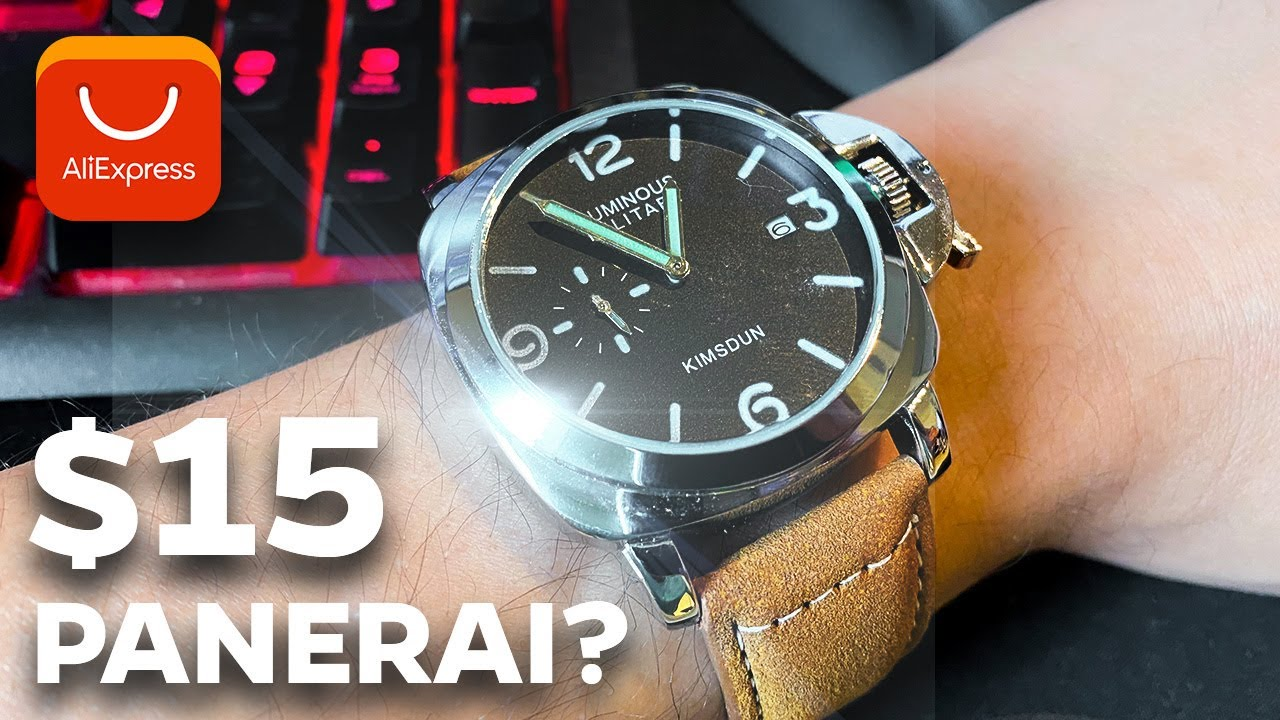 Best Panerai Replica Watch? - Kimsdun Luminous Military Luxury Watch (AliExpress)