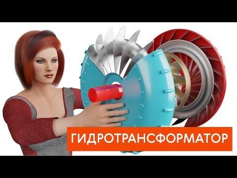 Как работает гидротрансформатор автоматической коробки передач?