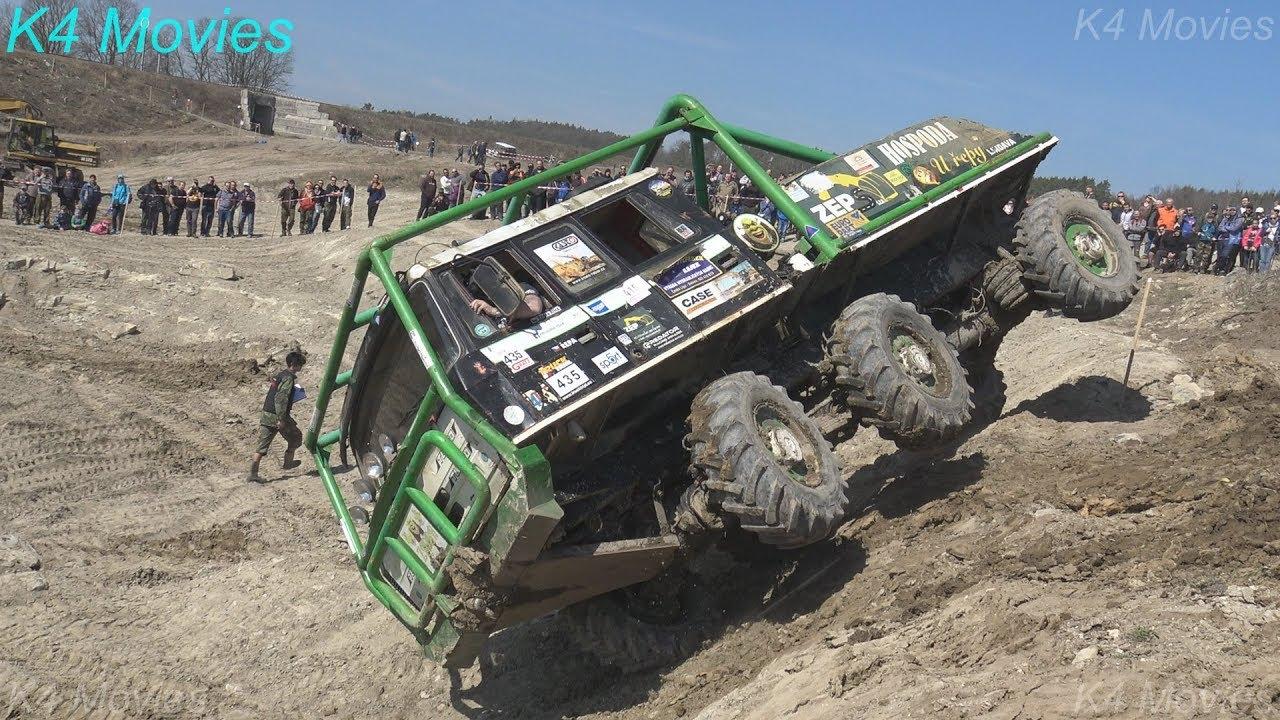 6x6 Truck Trial, Milovice 2018