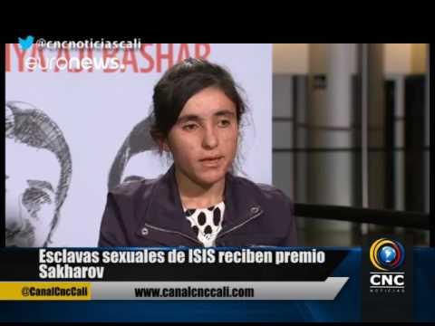 Esclavas sexuales de ISIS reciben premio...