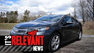 2013 Chevy Volt Test Drive