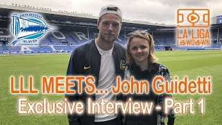 LLL MEETS...John Guidetti! EXCLUSIVE Interview - Part 1: On Man City, Feyenoord, Celtic...