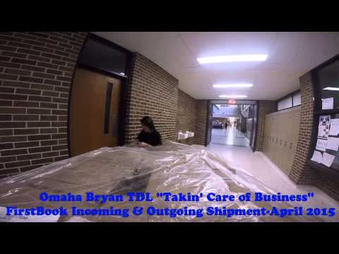 "Omaha Bryan TDL Academy FirstBook ""Takin' Care of Business"" by Bachman-Turner Overdrive"