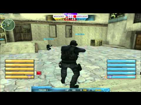 Crossfire WCG 2013 Grand Finals: MSI.EVO vs QCES.QQVIP on Black Widow Game 1