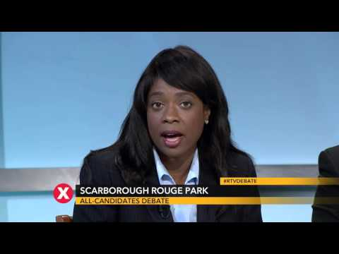 Toronto Scarborough-Rouge Park Debate - 2015 Canadian Federal Election -  Rogers TV