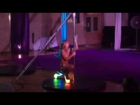 Solo Pole Routine at Octopus' Garden Showcase at Paradisaea Aerial Dance - June 25, 2016