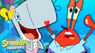 BEST of Mr. Krabs Being a Dad!  | SpongeBob