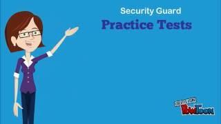 Security Guard Job Practice Test 1
