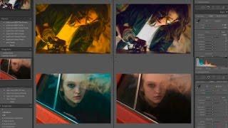 Обработка киношного портрета в Lightroom (до - после). Фрагмент стрима + файлы для тренировки