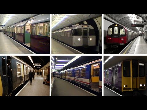 Moorgate Station Railway Contrasts Part 1