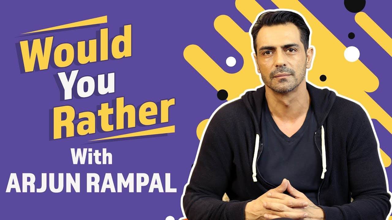 Arjun Rampal plays Would You Rather game with Pinkvilla | Bollywood | The Final Call