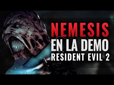 NEMESIS APARECE EN LA DEMO DE RESIDENT EVIL 2 REMAKE   SECRETO